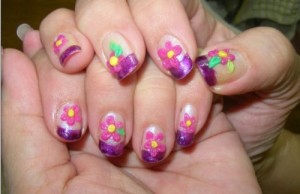 beautiful and unique nail art designs 300x194 beautiful and unique nail art designs