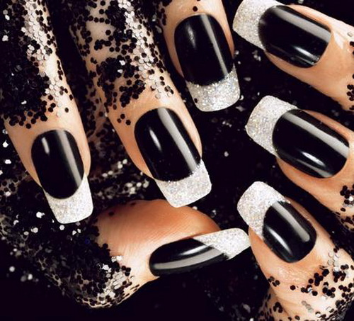 black acrylics nail designs for prom Nail Designs for Prom