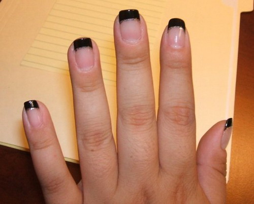 black nail ideas1 Nail Art Ideas