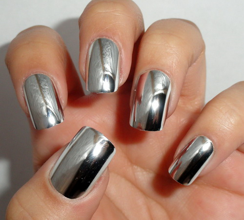 chrome nail polish ideas Chrome Nail Polish