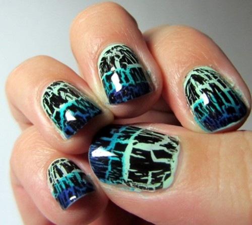 crackle nail polish tips Crackle Nail Polish