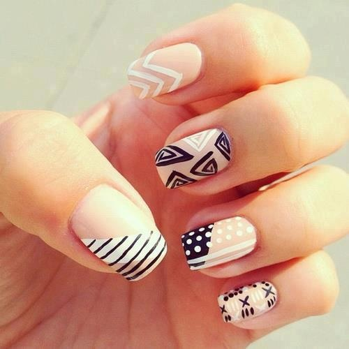 cute nail ideas Get Painting with these Cute Nail Designs!