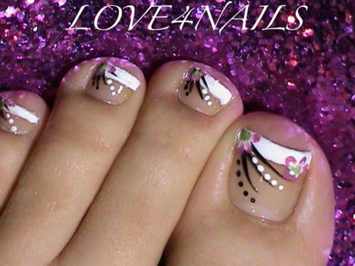 - Cute-toe-nail-designs