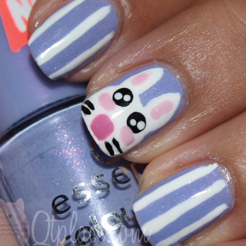 easter bunny nail art ideas Easter Nail Art