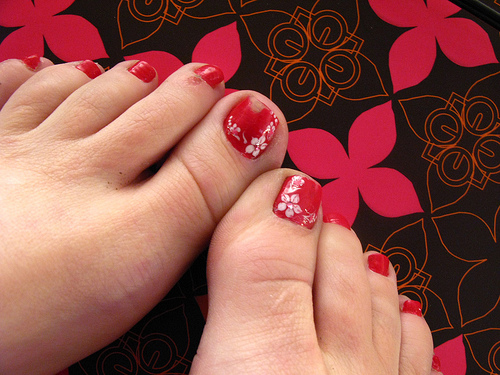 easy toe nail designs Toe Nail Designs