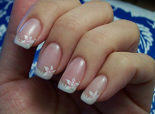 french nail ideas French Nail Designs