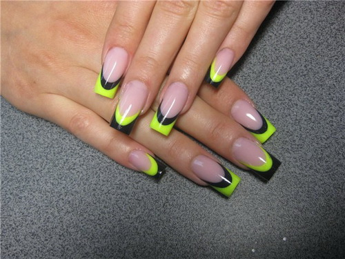 french tip nail design1 french nail tips french tip nail design