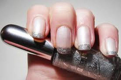 french tip nail ideas black french nails tips