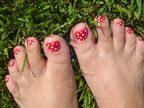 glitter toe nail tips toe nail art ideas