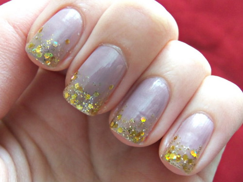 gold nail deasigns ideas Manicure Nail Wraps
