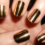 Gold Nail Wraps Ideas