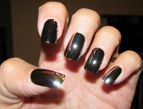 nail polish designs Chrome Nail Polish