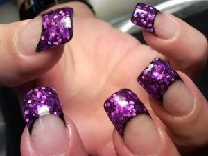 purple french nail tips 300x225 purple french nail tips