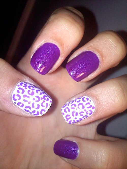 purple nail designs Get Painting with these Cute Nail Designs!
