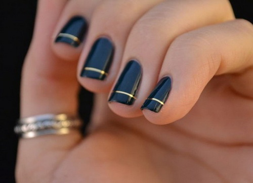 simple nail art ideas - Simple Nail Design Ideas