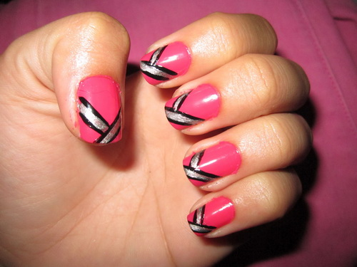 Nail polish design ideas easy easy nail art design and polish view images simple nail polish designs prinsesfo Image collections