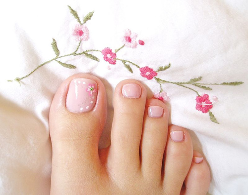 simple toe nail art designs Toe Nail Designs