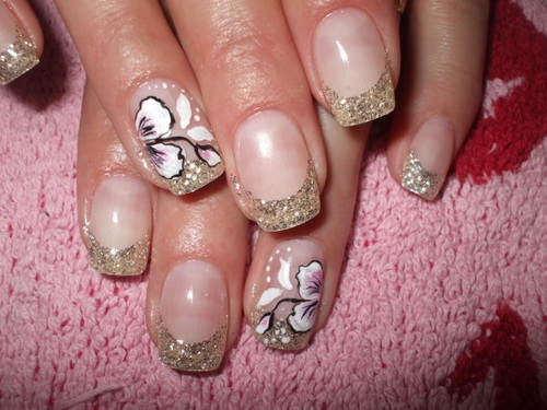 white french tip nail designs French Nail Tips