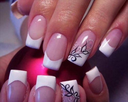 white nail polish designs1 best nail polish