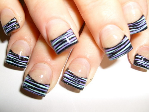 Ideas For Nail Designs 60 nail art ideas to make you look trendy and stylish Acrylic Nail Tips Nail Tip Designs Ideas