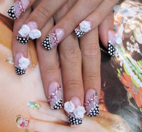 acrylic nail ideas Acrylic Nail Tips