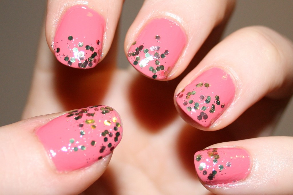 Beauty Pink Nail Tips
