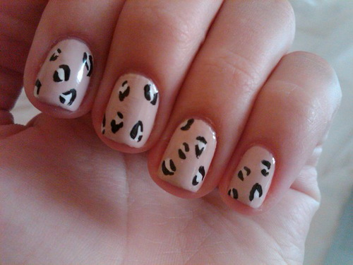 cool nail designs for short nails brown cute simple nail designs