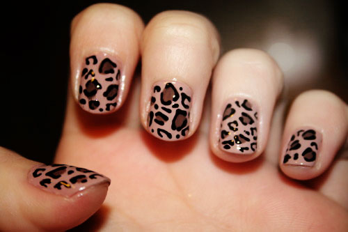 cute love designs for simple nail Cute Simple Nail Designs
