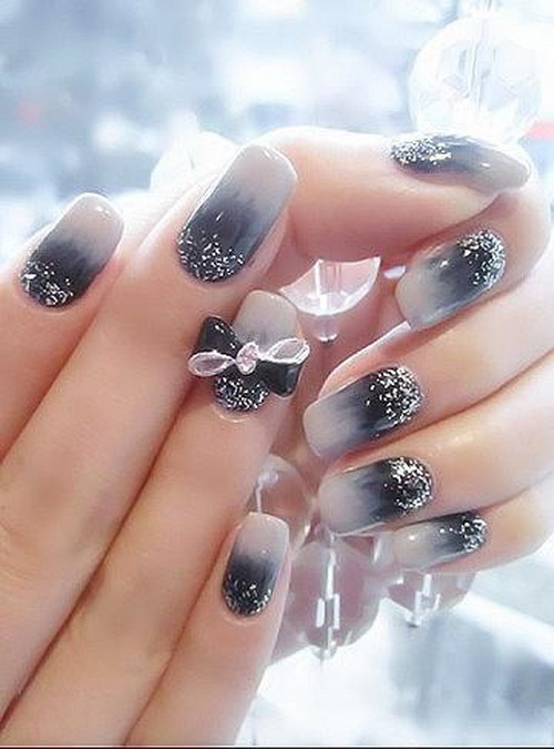 cute prom nail designs Diamond Nail Designs & Ideas