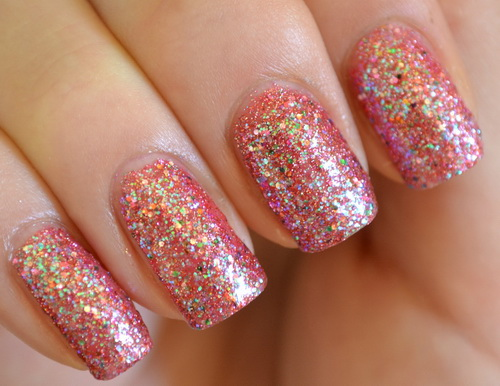 glitter nail art designs Making Glitter Nail Art