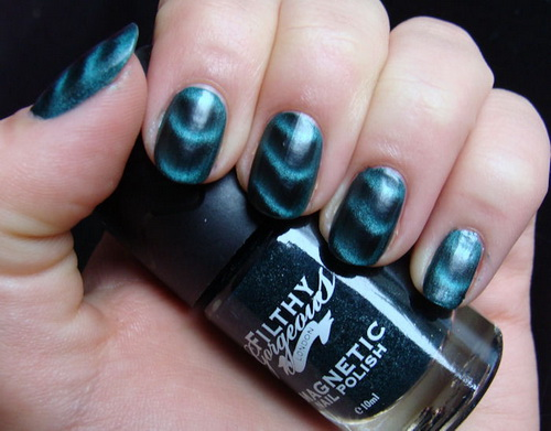 magnetic nail polish Metallic Nail Polish