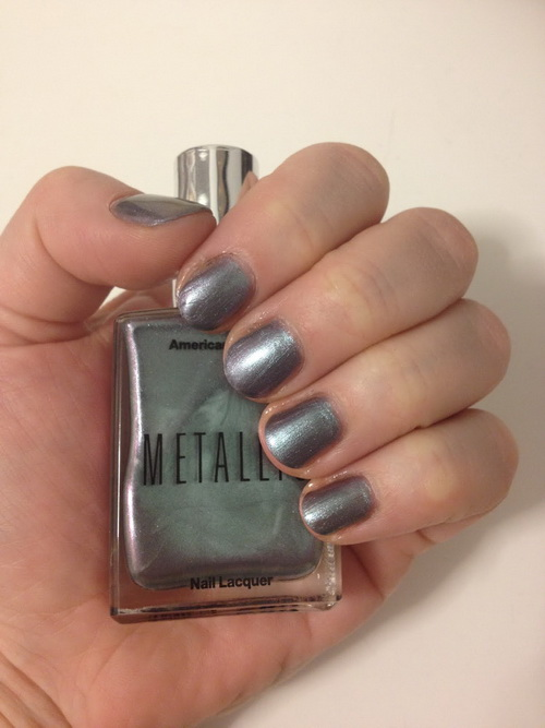 metallic nail polish mirror Metallic Nail Polish