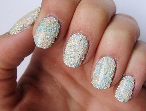 prom pastel nail designs Prom Nail Designs