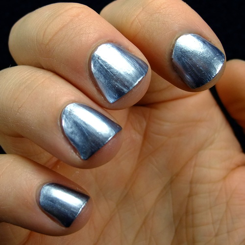 silver metallic nail polish Metallic Nail Polish