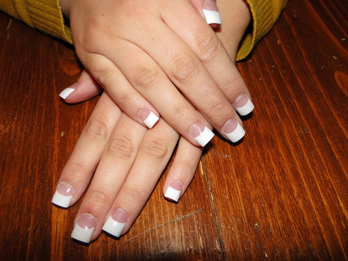 wide and white nail blue nail designs for prom