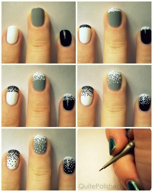 cute nail colors combo 5 Nail Colours to Choose for Autumn/Winter 2013!