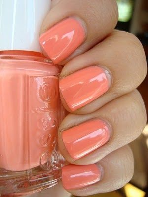 orange nail colors Nail Colors   Choose The Right One