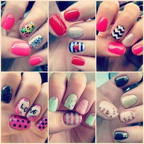 Cute Nail Designs 4 Get Painting with these Cute Nail Designs!