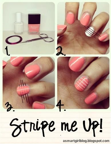 Diy Nail Art With Scotchtape Nail Designs Mag