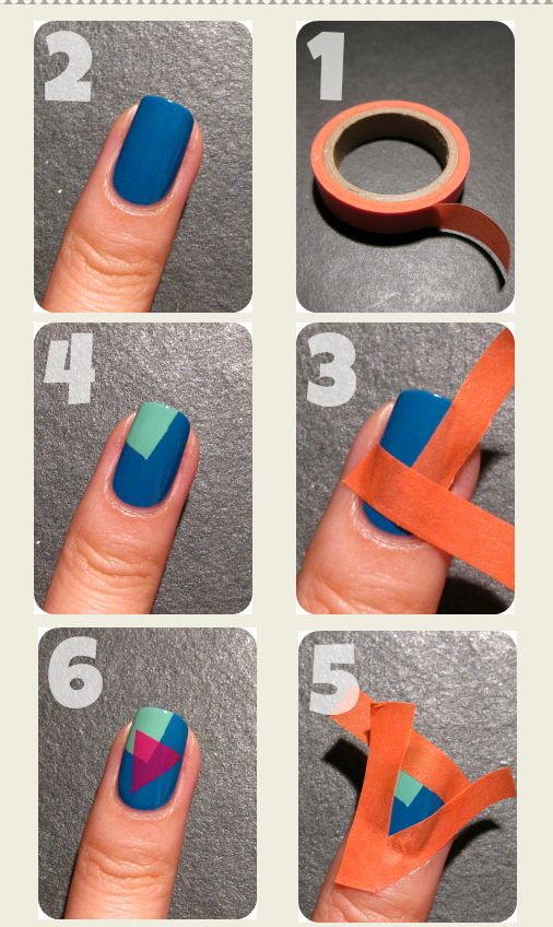 Diy nail art 3 prinsesfo Image collections