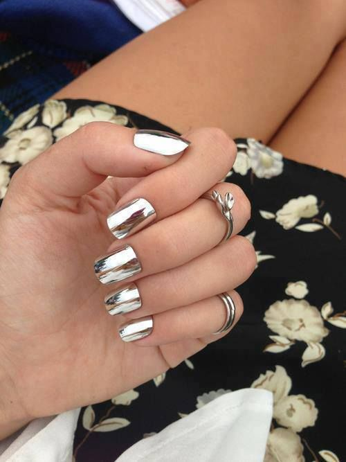 metallic nails trends Top Nail Polish Trends Revived!