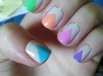 3 'Trendy' and Colorful Nail Designs