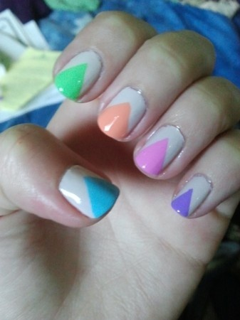 Colorful Nail Designs 1 Colorful Nail Designs 7