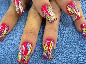 Colorful Nail Designs 4 300x225 Colorful Nail Designs 4