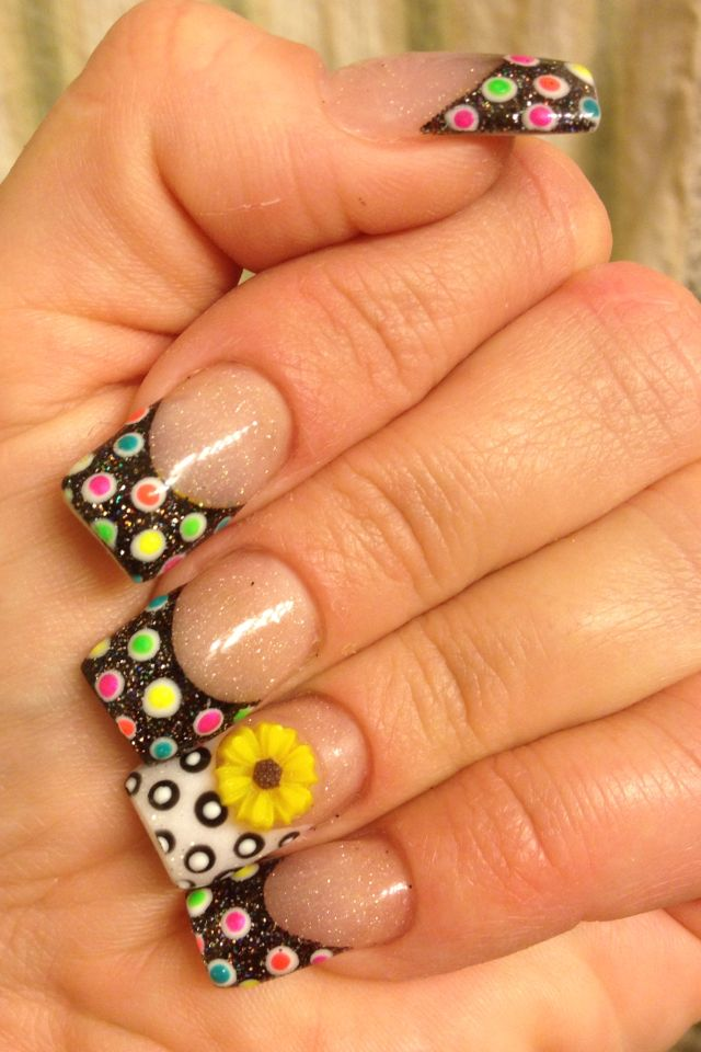 Colorful Nail Designs 5 3 Trendy and Colorful Nail Designs