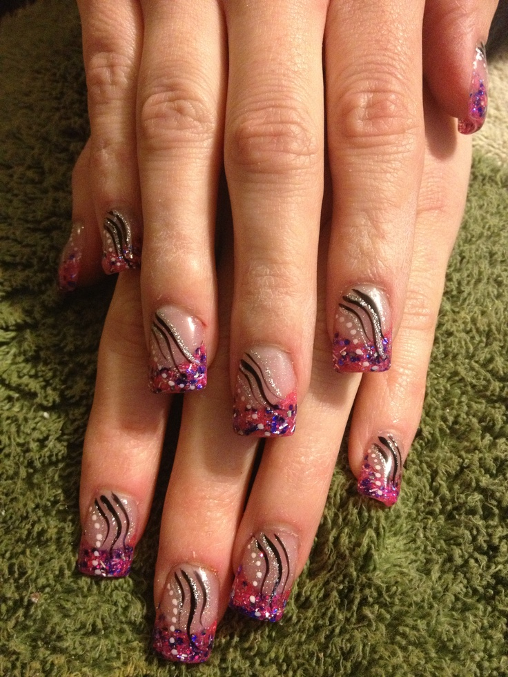 Colorful Nail Designs 6