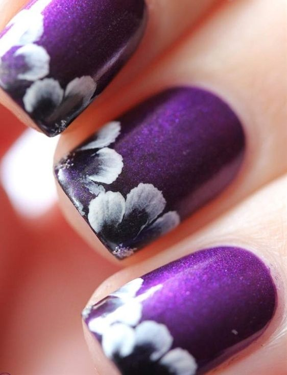 Purple Nail Designs 1 Vibrant Purple Nail Designs That You Can Try!