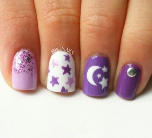 Purple Nail Designs 5 300x271 Purple Nail Designs 5