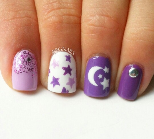 Purple Nail Designs 5 Vibrant Purple Nail Designs That You Can Try!