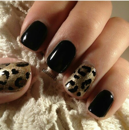 Cheetah Print Nail Designs 2 How to Create Cheetah Print Nail Designs